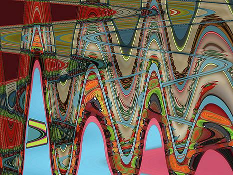 Anne Cameron Cutri - Paint Flow Collision