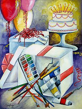 Paint Party by Elaine Hodges