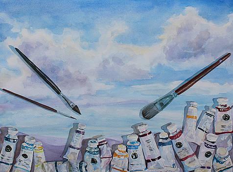 Jenny Armitage - Paint Tube Hills