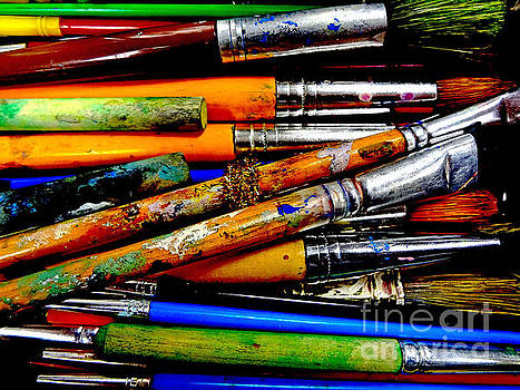 Paintbrushes by Eddy Mann