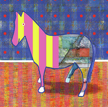 Painted Pony 1 by James Raynor
