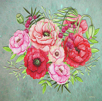 Painted Bouquet by Ericamaxine Price