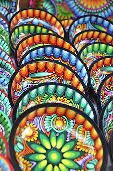 Painted Bowls by Kathy Schumann