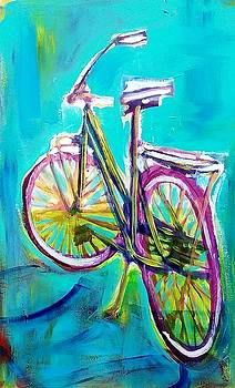 Painted Bycycle by Kimberly Dawn Clayton