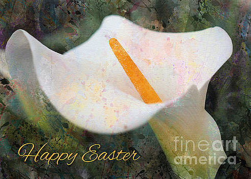Painted Calla Lily Easter by JH Designs