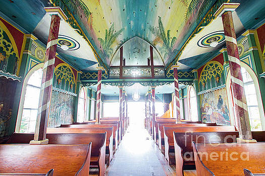 Painted Church 3 by Daniel Knighton