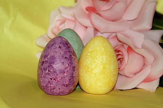 Painted Eggs by Alynne Landers