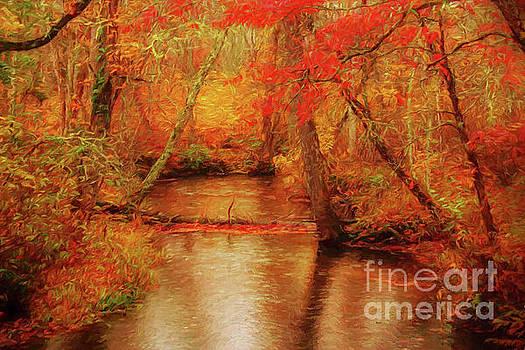Painted Fall by Geraldine DeBoer