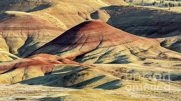 Painted Hills, Oregon by Jerry Fornarotto