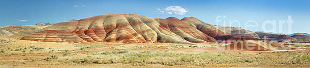 Painted Hills Pano 1 by Jerry Fornarotto
