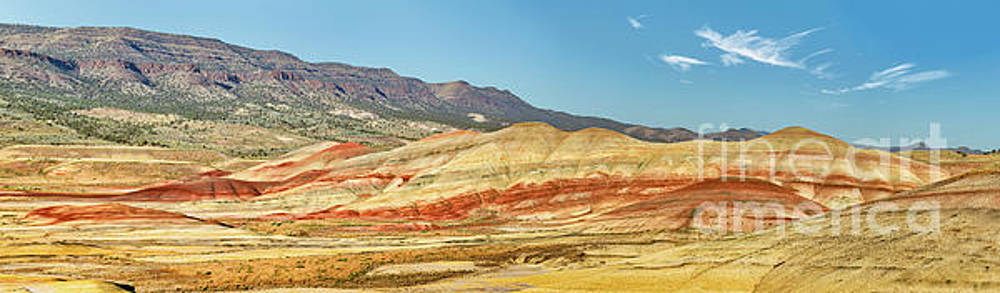 Painted Hills Pano 2 by Jerry Fornarotto