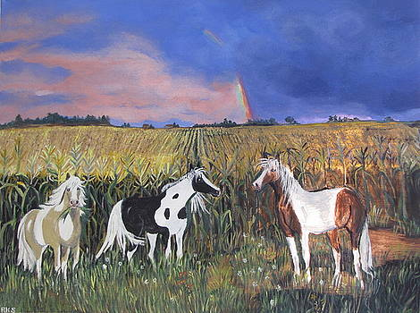 Painted Horses by Aleta Parks