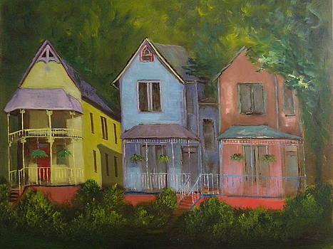 Painted Ladies by Rhonda Myers