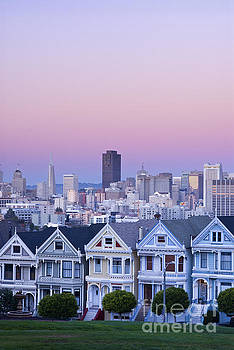 Painted Ladies, San Francisco by Justin Foulkes