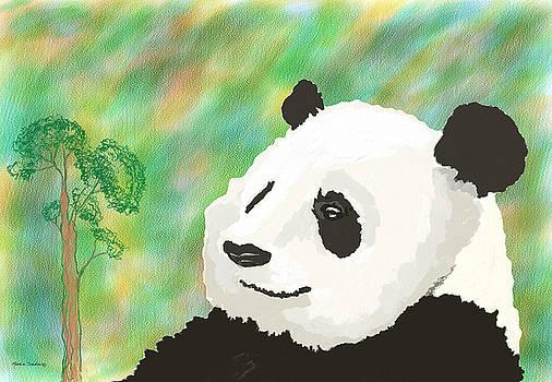 Painted Panda by Rosalie Scanlon