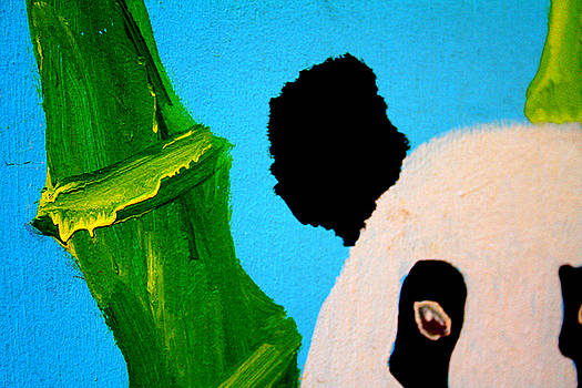 Painted Panda by Shelly Davis