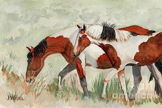 Painted Ponies by Michele Ross