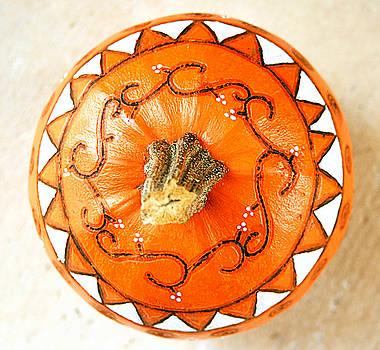 Painted Pumpkin by Kori Creswell