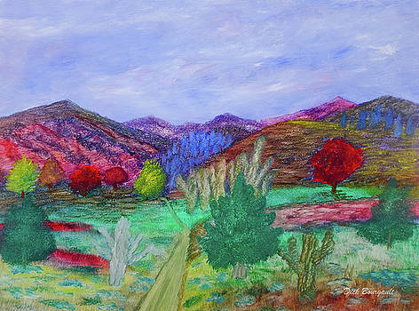 Painted Southwest by Dick Bourgault