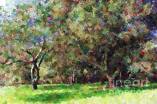 Painted Trees by Katherine Erickson