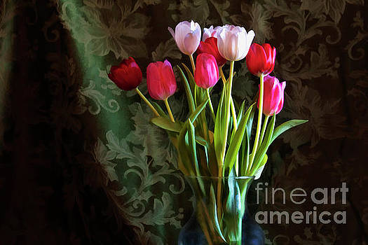 Painted Tulips by Joan Bertucci