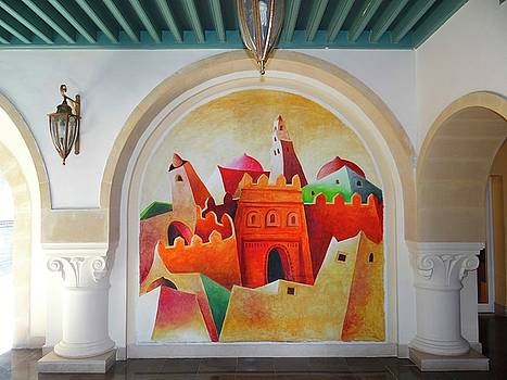 Painted wall by Exploramum Exploramum