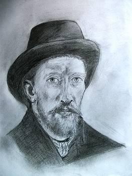 Painter Vincent Van Gogh by Covaliov Victor