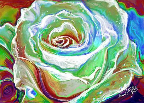 Painterly Rose by David Kyte