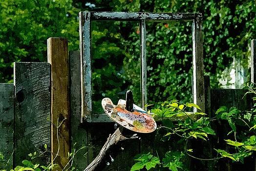Painters Garden by Andrea Kollo