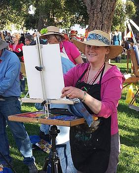 Painting in OT SD by Mary McInnis