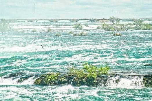 Garvin Hunter - Painting of Niagara Falls