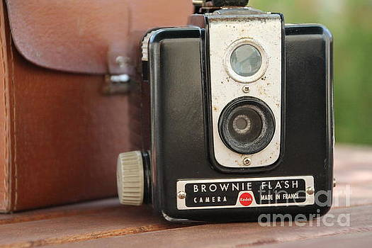 Painting with Light... Box Brownie  by Lynn England
