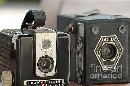 Painting with light ...box cameras  by Lynn England