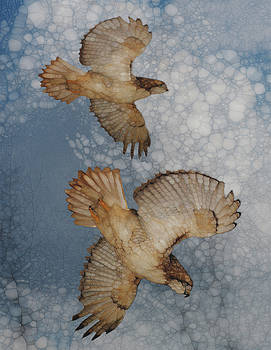 Pair In Flight by Jack Zulli