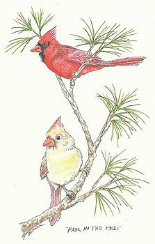 Pair in the Pines by Sue Bonnar