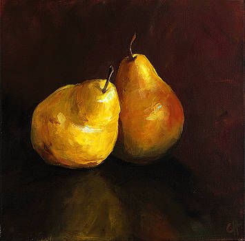 Pair of Pears by Cari Humphry