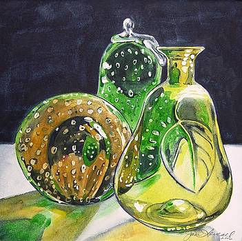 Pair of Pears by Jane Loveall
