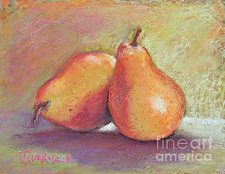 Pair of Pears by Joyce A Guariglia