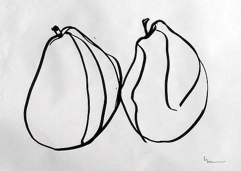 Pair Study - Comice by Linda DiGusta
