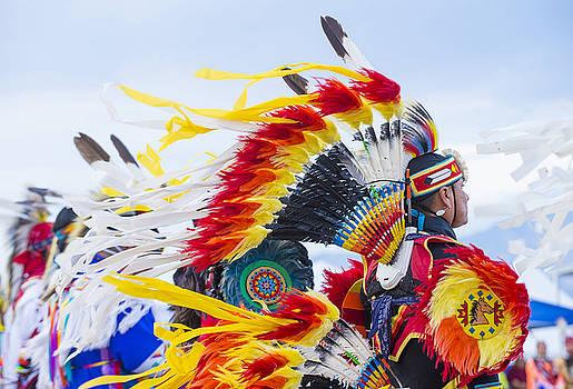 Paiute Tribe Pow Wow  by Kobby Dagan