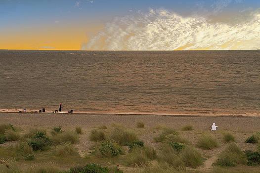 David French - Pakefield Beach Sunset