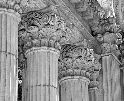 Palace Columns by Risa Bender