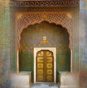 Palace Door by Joya Paul