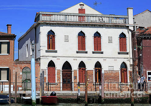 Palace in Murano Italy by Louise Heusinkveld