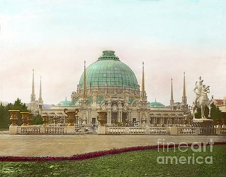 California Views Mr Pat Hathaway Archives - Palace of Horticulture, Panama Pacific International Exposition 1915