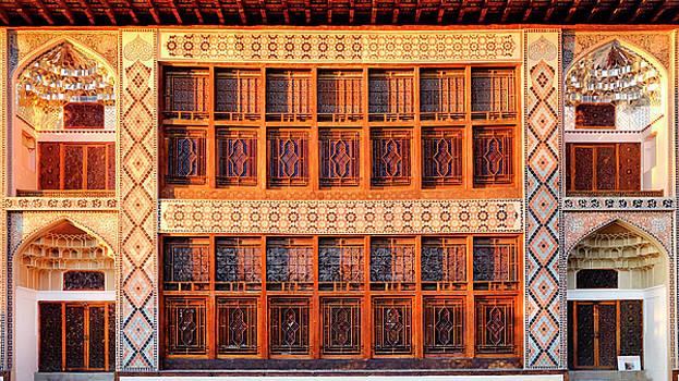 Palace of Sheki Khans by Fabrizio Troiani