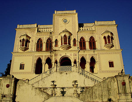 Palace of the Maharaja of Tehri-Garhwal near Rishikesh, India by Misentropy