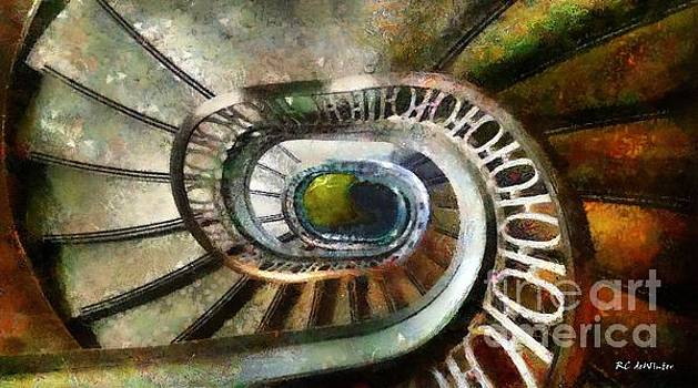 Palace Stairs by RC deWinter