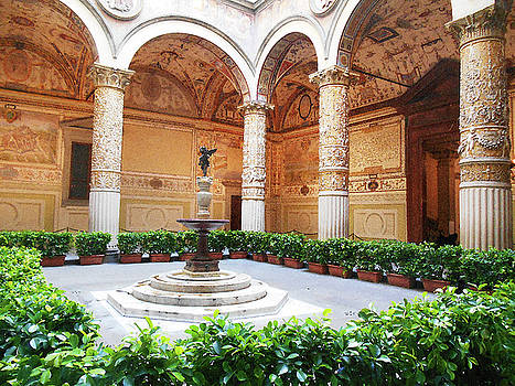 Palazzo Vecchio Interior  by Irina Sztukowski