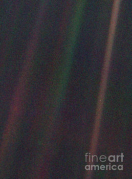 Pale Blue Dot, Voyager 1 image by Science Photo Library
